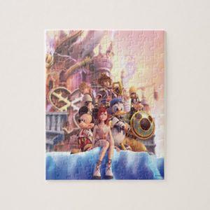 Kingdom Hearts II | Hollow Bastion Key Art Jigsaw Puzzle