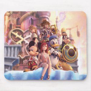 Kingdom Hearts II | Hollow Bastion Key Art Mouse Pad