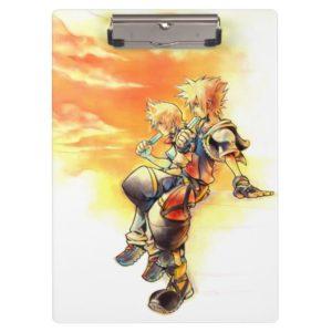 Kingdom Hearts II | Roxas & Sora Eating Ice Pops Clipboard