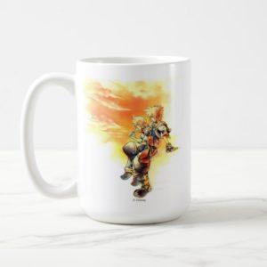 Kingdom Hearts II   Roxas & Sora Eating Ice Pops Coffee Mug