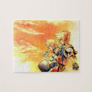 Kingdom Hearts II | Roxas & Sora Eating Ice Pops Jigsaw Puzzle