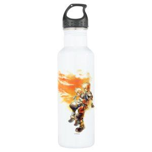 Kingdom Hearts II   Roxas & Sora Eating Ice Pops Stainless Steel Water Bottle