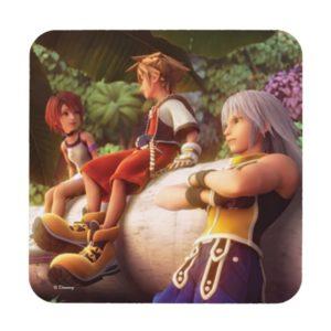 Kingdom Hearts | Kairi, Sora, & Riku Film Still Beverage Coaster