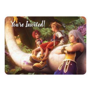 Kingdom Hearts | Kairi, Sora, & Riku Film Still Invitation