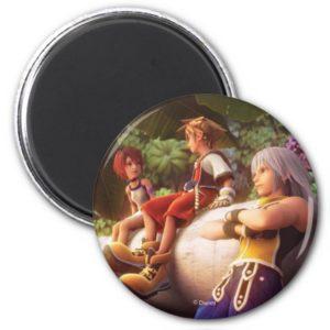 Kingdom Hearts | Kairi, Sora, & Riku Film Still Magnet
