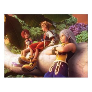 Kingdom Hearts | Kairi, Sora, & Riku Film Still Postcard