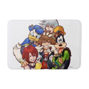 Kingdom Hearts | Main Cast Illustration Bath Mat