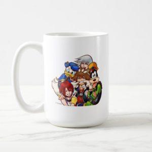 Kingdom Hearts | Main Cast Illustration Coffee Mug