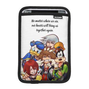 Kingdom Hearts | Main Cast Illustration iPad Mini Sleeve