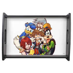 Kingdom Hearts | Main Cast Illustration Serving Tray