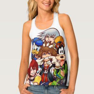 Kingdom Hearts   Main Cast Illustration Tank Top