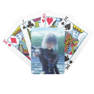 Kingdom Hearts   Riku In The Ocean Film Still Bicycle Playing Cards