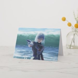Kingdom Hearts | Riku In The Ocean Film Still Card