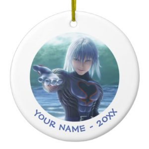 Kingdom Hearts | Riku In The Ocean Film Still Ceramic Ornament