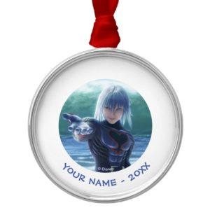 Kingdom Hearts   Riku In The Ocean Film Still Metal Ornament