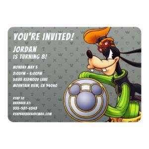 Kingdom Hearts | Royal Knight Captain Goofy Invitation