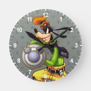 Kingdom Hearts | Royal Knight Captain Goofy Round Clock