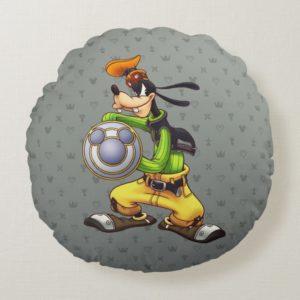 Kingdom Hearts | Royal Knight Captain Goofy Round Pillow