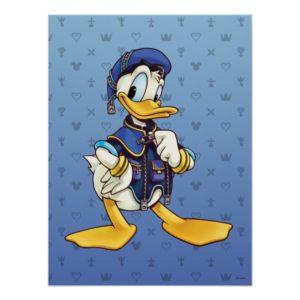 Kingdom Hearts | Royal Magician Donald Duck Poster