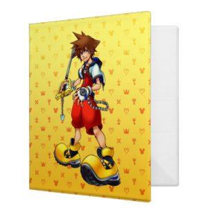 Kingdom Hearts | Sora Character Illustration 3 Ring Binder