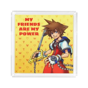 Kingdom Hearts | Sora Character Illustration Acrylic Tray