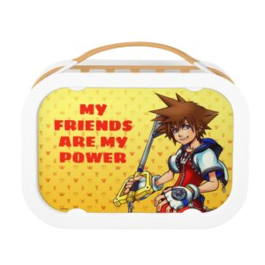 Kingdom Hearts | Sora Character Illustration Lunch Box