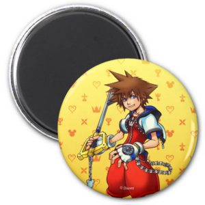 Kingdom Hearts | Sora Character Illustration Magnet