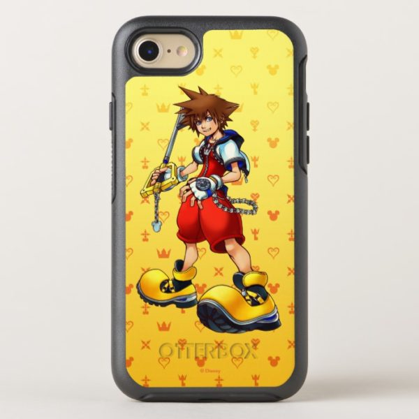 Kingdom Hearts | Sora Character Illustration OtterBox iPhone Case