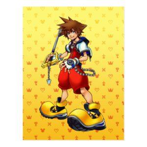 Kingdom Hearts | Sora Character Illustration Postcard