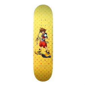 Kingdom Hearts | Sora Character Illustration Skateboard
