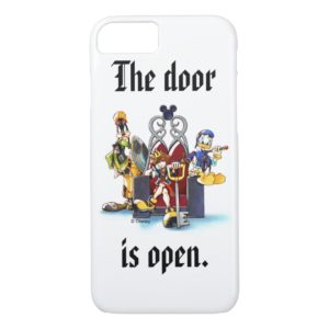 Kingdom Hearts | Sora, Donald, & Goofy On Throne Case-Mate iPhone Case