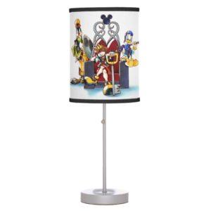 Kingdom Hearts | Sora, Donald, & Goofy On Throne Desk Lamp