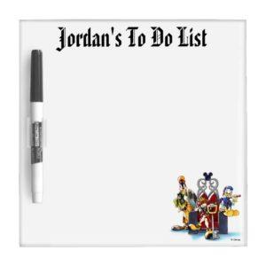 Kingdom Hearts | Sora, Donald, & Goofy On Throne Dry Erase Board