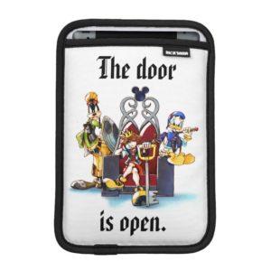 Kingdom Hearts | Sora, Donald, & Goofy On Throne iPad Mini Sleeve