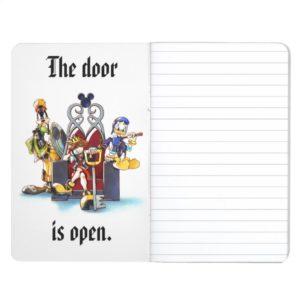 Kingdom Hearts | Sora, Donald, & Goofy On Throne Journal