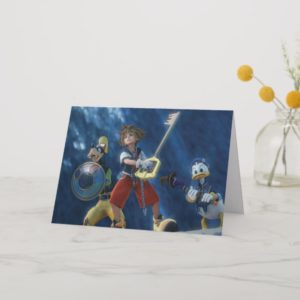 Kingdom Hearts | Sora, Goofy, & Donald Film Still Card