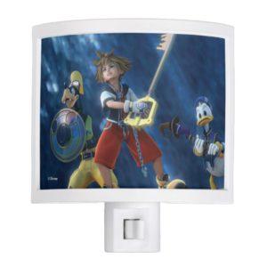Kingdom Hearts | Sora, Goofy, & Donald Film Still Night Light