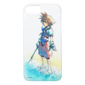 Kingdom Hearts | Sora On Beach Watercolor Case-Mate iPhone Case