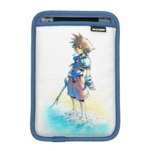 Kingdom Hearts | Sora On Beach Watercolor iPad Mini Sleeve