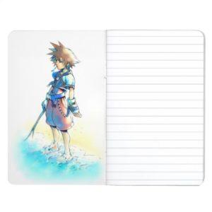 Kingdom Hearts   Sora On Beach Watercolor Journal