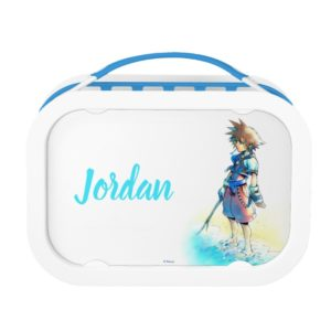 Kingdom Hearts | Sora On Beach Watercolor Lunch Box