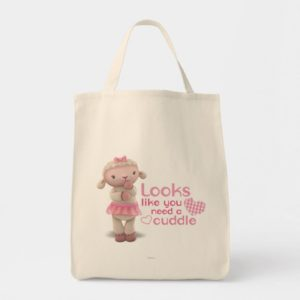 Lambie - Looks Like You Need a Cuddle Tote Bag