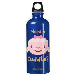 Lambie - Need a Cuddle 2 Aluminum Water Bottle