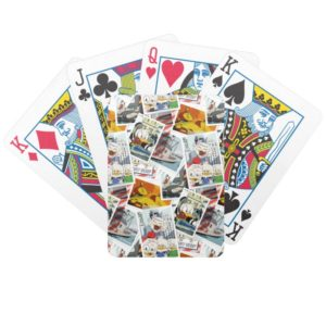 Let the Adventure Begin Pattern Bicycle Playing Cards