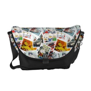 Let the Adventure Begin Pattern Courier Bag