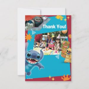 Lilo and Stitch Birthday Thank You Cards