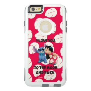 Lilo & Stich | I Love You To The Moon OtterBox iPhone Case