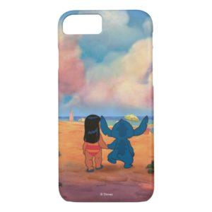Lilo & Stich |Lilo & Stitch At The Beach Case-Mate iPhone Case