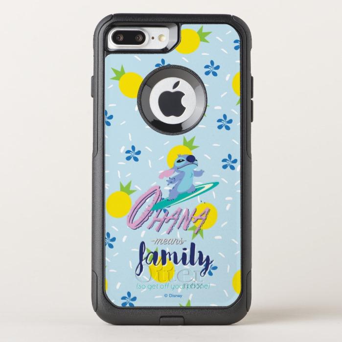 new arrival f0fb0 540f3 Lilo & Stich | Ohana Means Family OtterBox iPhone Case