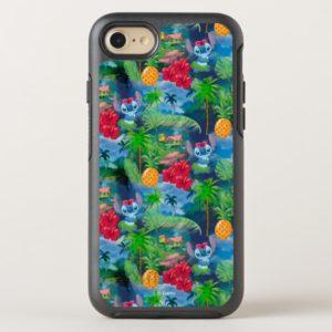 Lilo & Stich   Stitch Pattern OtterBox iPhone Case